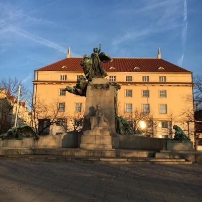 Frantisek Palacky monument