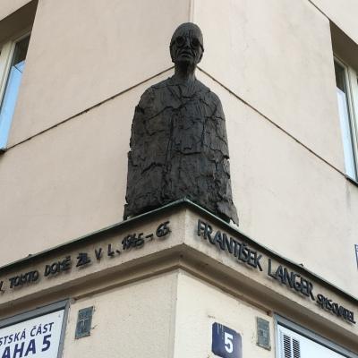 Bust Frantisek Langer